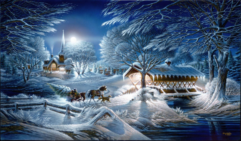 Картинки гифки новогодние сказочные, днем марта картинки