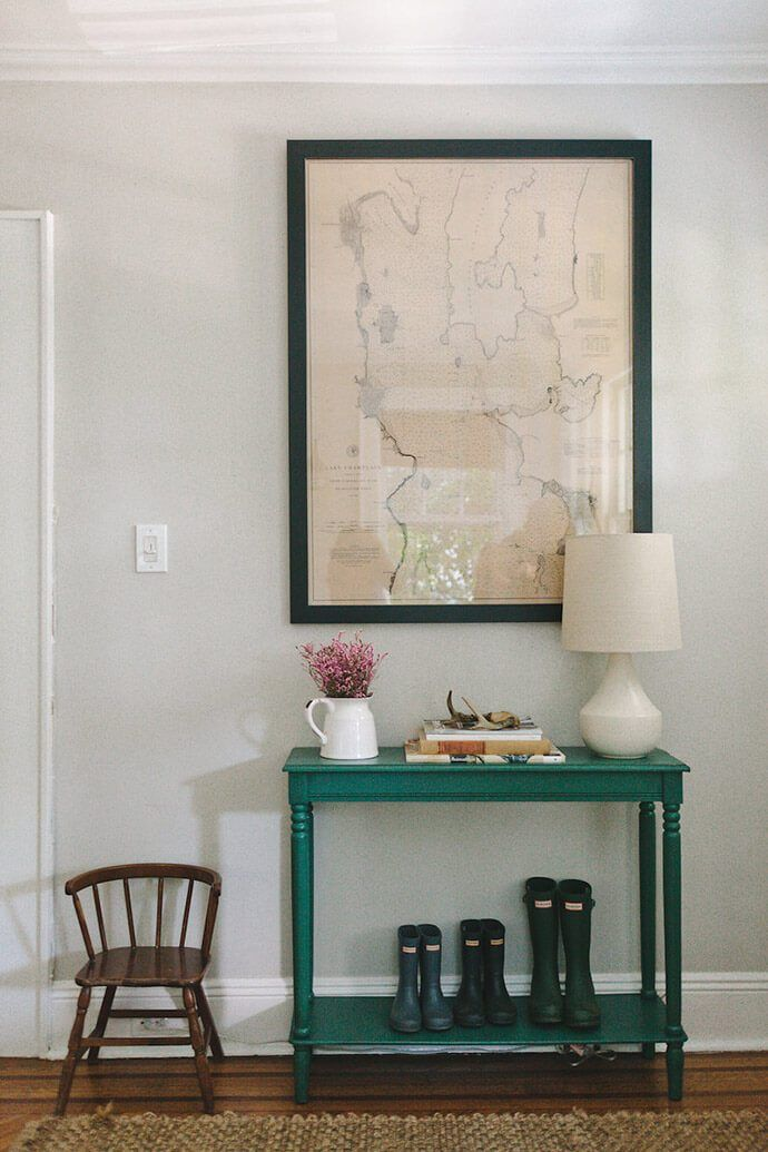 A Quaint And Character Filled New Jersey Home | Entry Tables, Foyers And  House