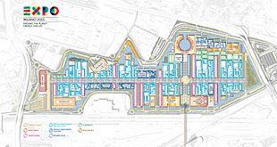 Expo 2015 -Planimetria sito