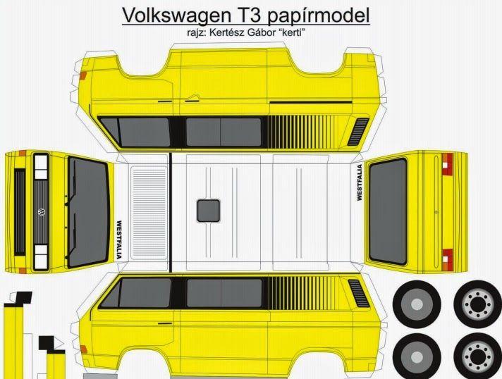 vwt3 net  nuevos modelos de vw t3 de papel