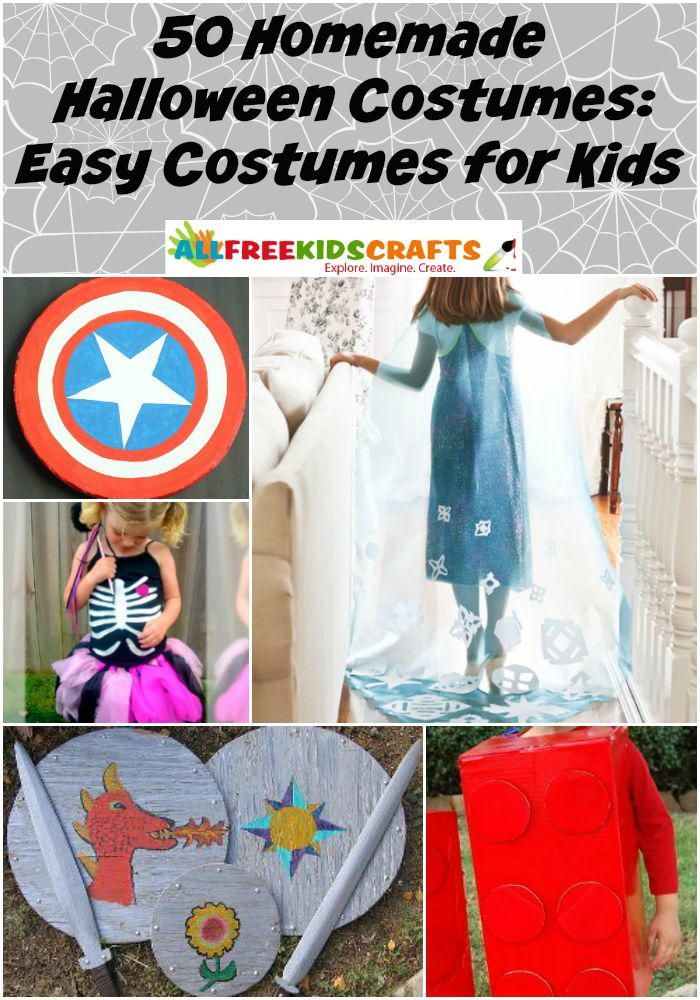 50 Homemade Halloween Costumes Easy Costumes for Kids Easy - homemade halloween decorations kids