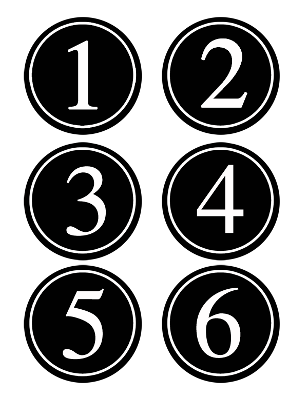 FREE #printable Bean Bag Toss #Numbers for Parties/ Snippets of Designcopy
