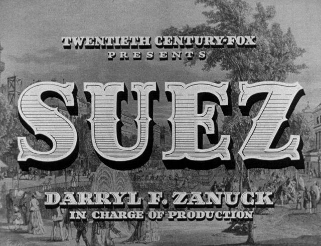 Suez (1938) Blu-ray movie title | Космос