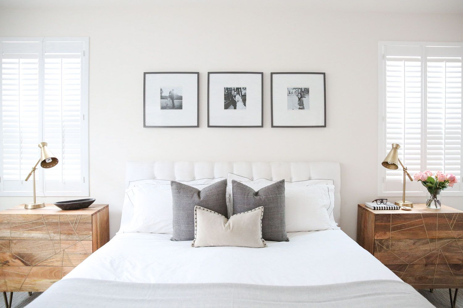 Merrick At Home: Master Bedroom and Bath | Furniture layout ...