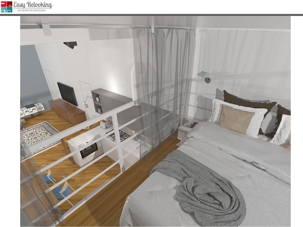 Camera Da Letto Nel Soppalco : Camera da letto su soppalco in loft bedrooms nel