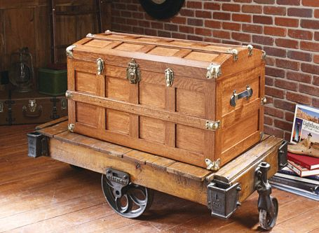 Domed Top Steamer Trunk Woodsmith Plans Crafts