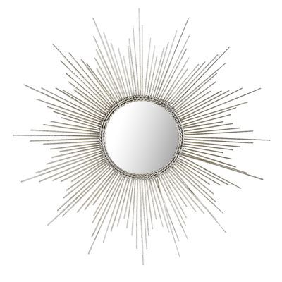 Petite Silver Burst Mirror 15 50 D Silver Pier 1 Silver Home Accessories Silver Sunburst Mirror Mirror Wall Decor