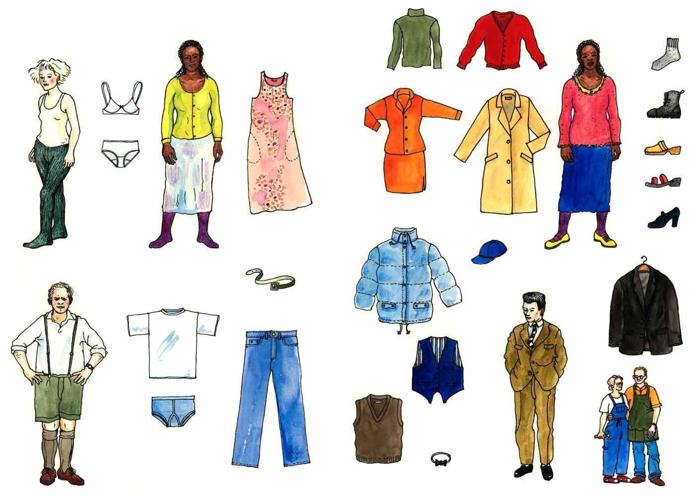 Kuvahaun tulos haulle vaatteet kuva