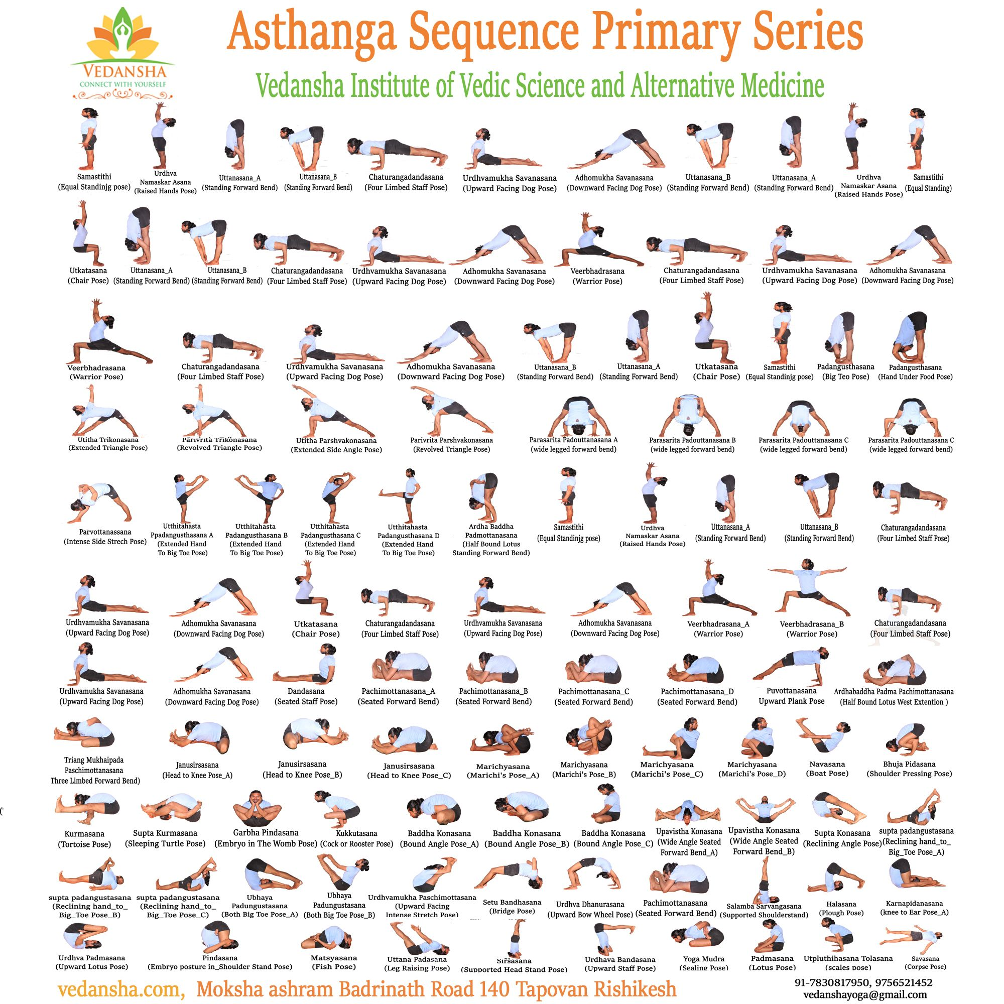 Learn Ashtanga Primary Series With Us