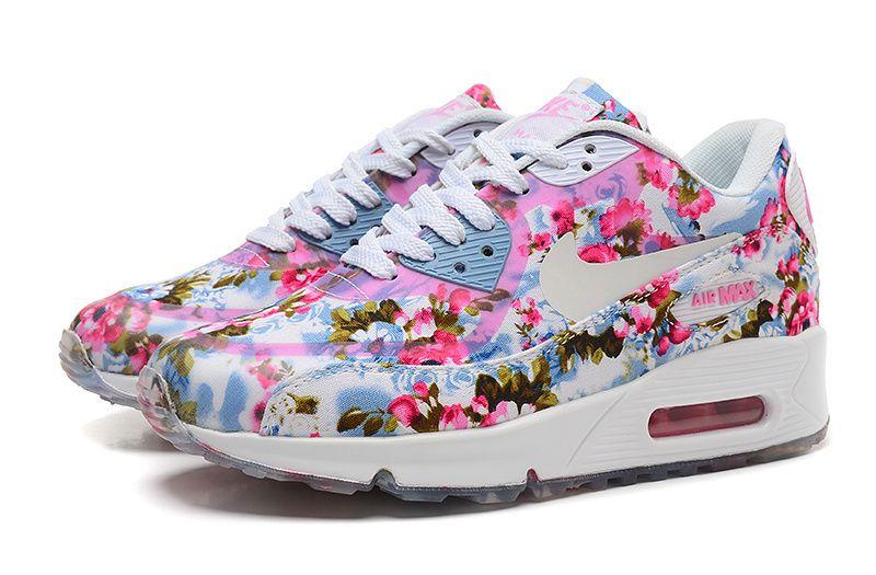 Acheter La Dernière Gamme De Nike Air Max 90 Fleurs Femme