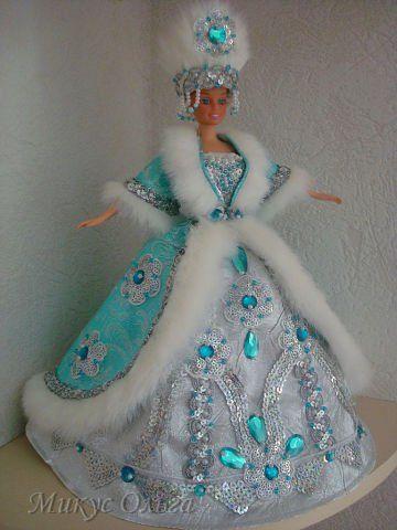 Как сделать снегурочку из куклы своими руками фото 812