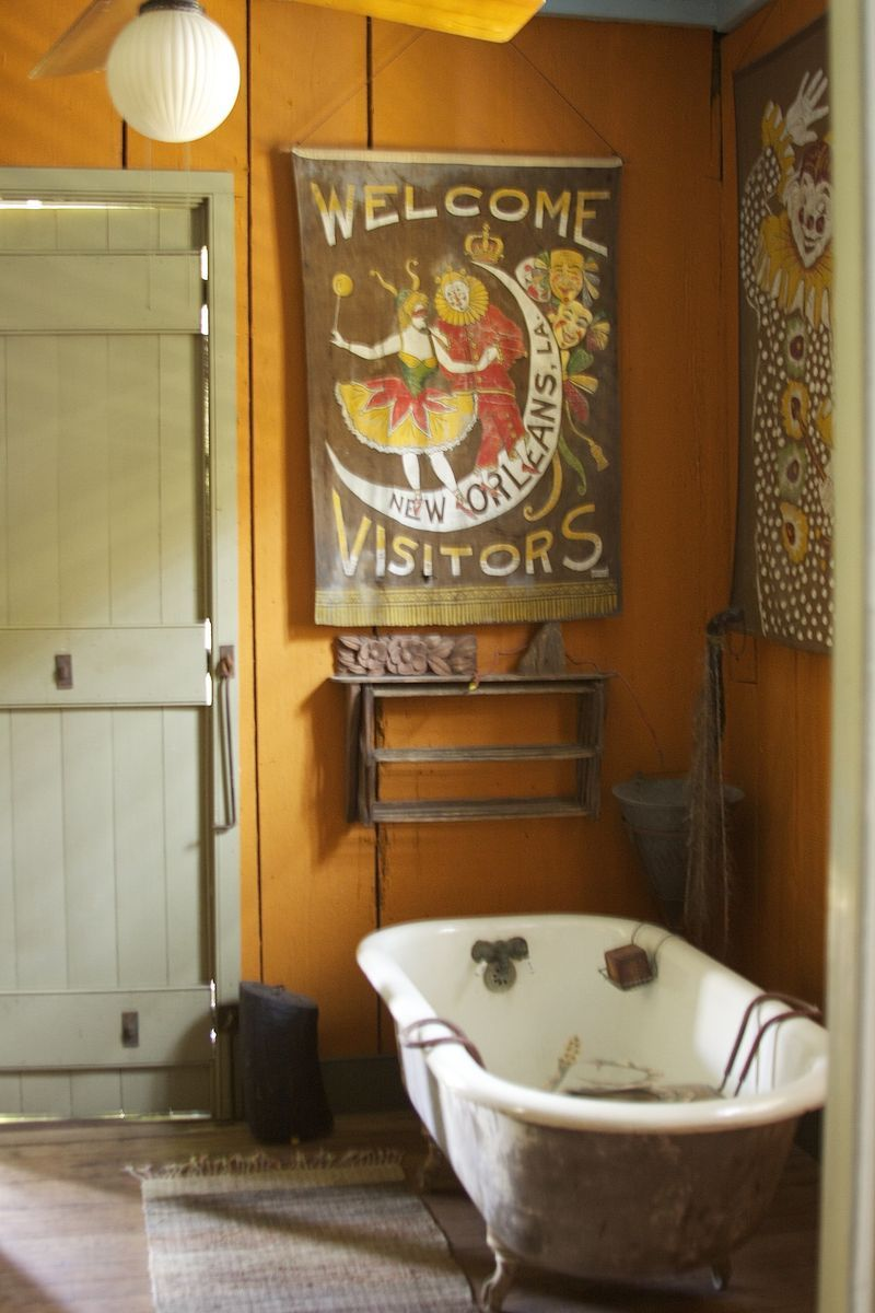 Something About Mary Part Ii Creole Cottage Simple Bathroom