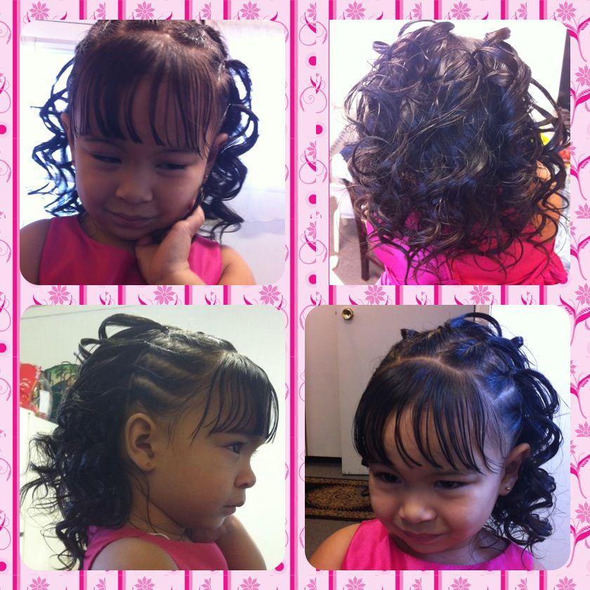 Little princess updo