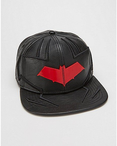 f5902a93577bc Red Hood DC Comics Snapback Hat - Spencer s