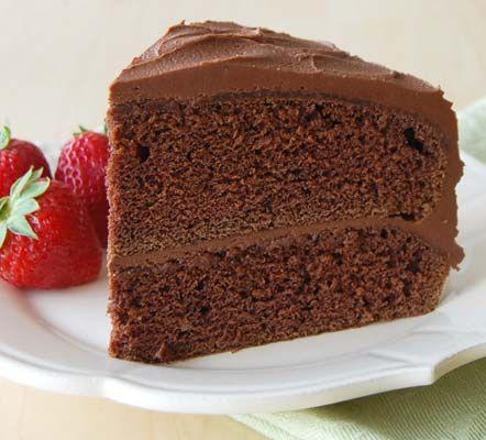 Mahogany Cake Recipe from Land O'Lakes   Mahogany cake ...