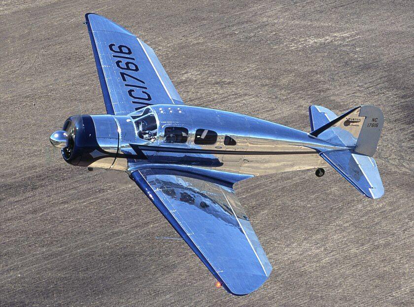 Spartan Executive Vintage aircraft, Aviation airplane