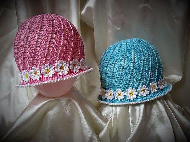 эксклюзивная ажурная шляпка крючком шляпа с ажурными полями крючком