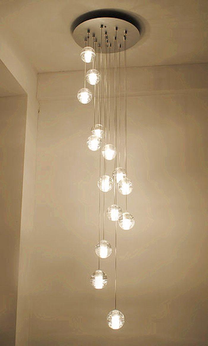 acheter 14 26 balles led escalier clairage nouveaut lampes suspendues lampes. Black Bedroom Furniture Sets. Home Design Ideas