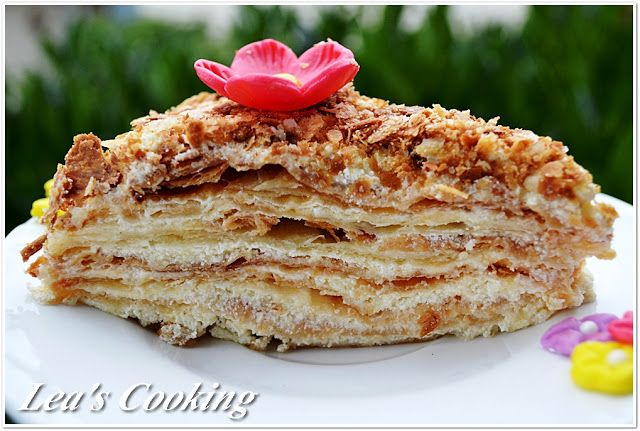 "Lea's Cooking: Russian Napoleon Cake ""Hаполеон"""