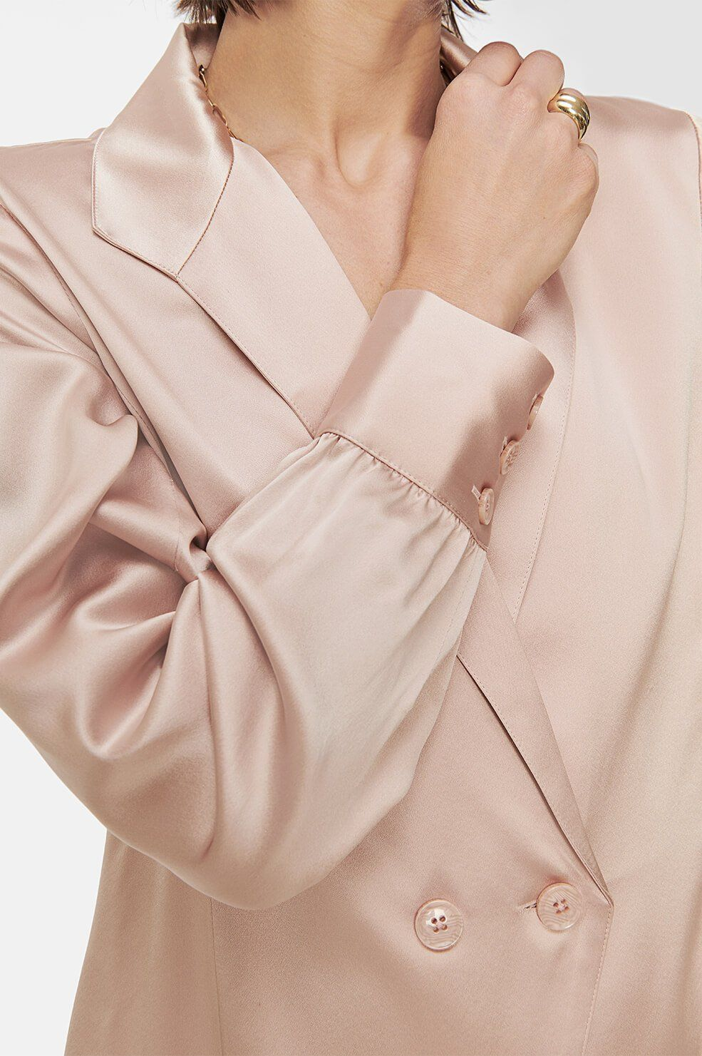 Anine Bing Isabella Top Dusty Pink In 2020
