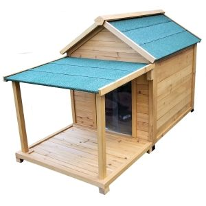 Simply Cedar Large Insulated Doghouse