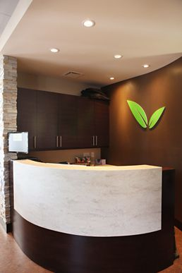 kettle valley chiropractic interior design receptions