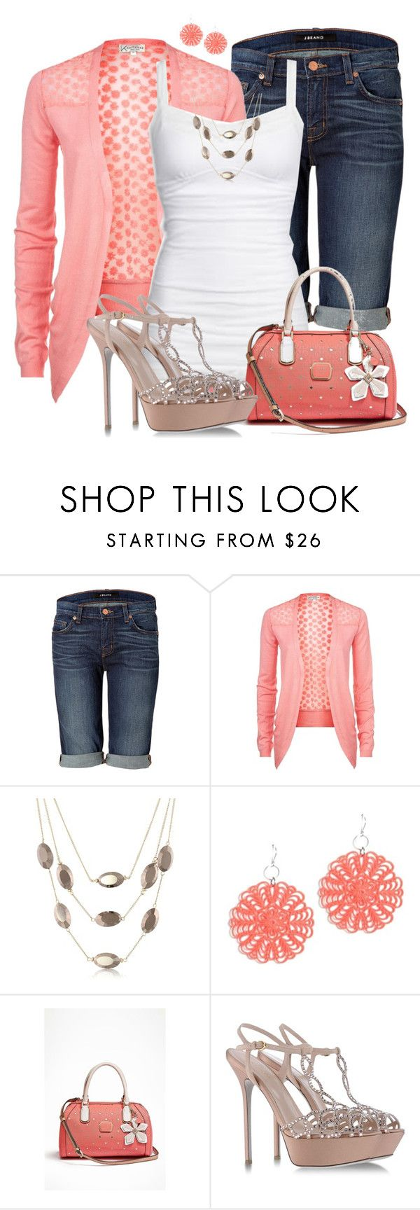"""""""Ready for Spring"""" by justbeccuz ❤ liked on Polyvore featuring J Brand, Kenneth Cole, Liz Law, GUESS and Sergio Rossi"""
