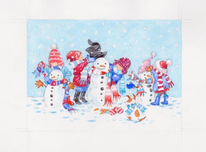 Annabel Spenceley - snowy children.jpeg