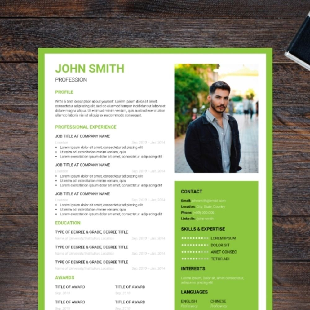 29+ Resume section headings and titles inspirations