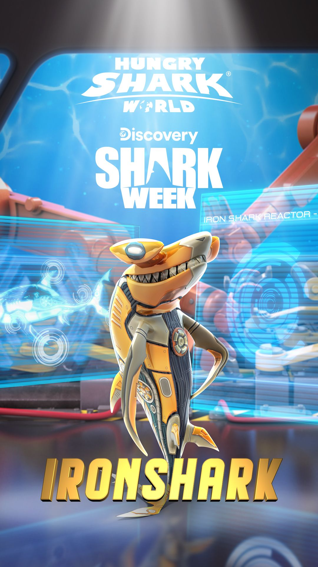 IRONSHARK Hammerhead skin is FREE FOR EVERYONE for a