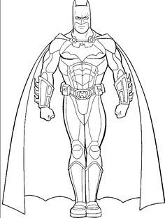 Pictures Of Batman Coloring For Kids Super Hero Coloring