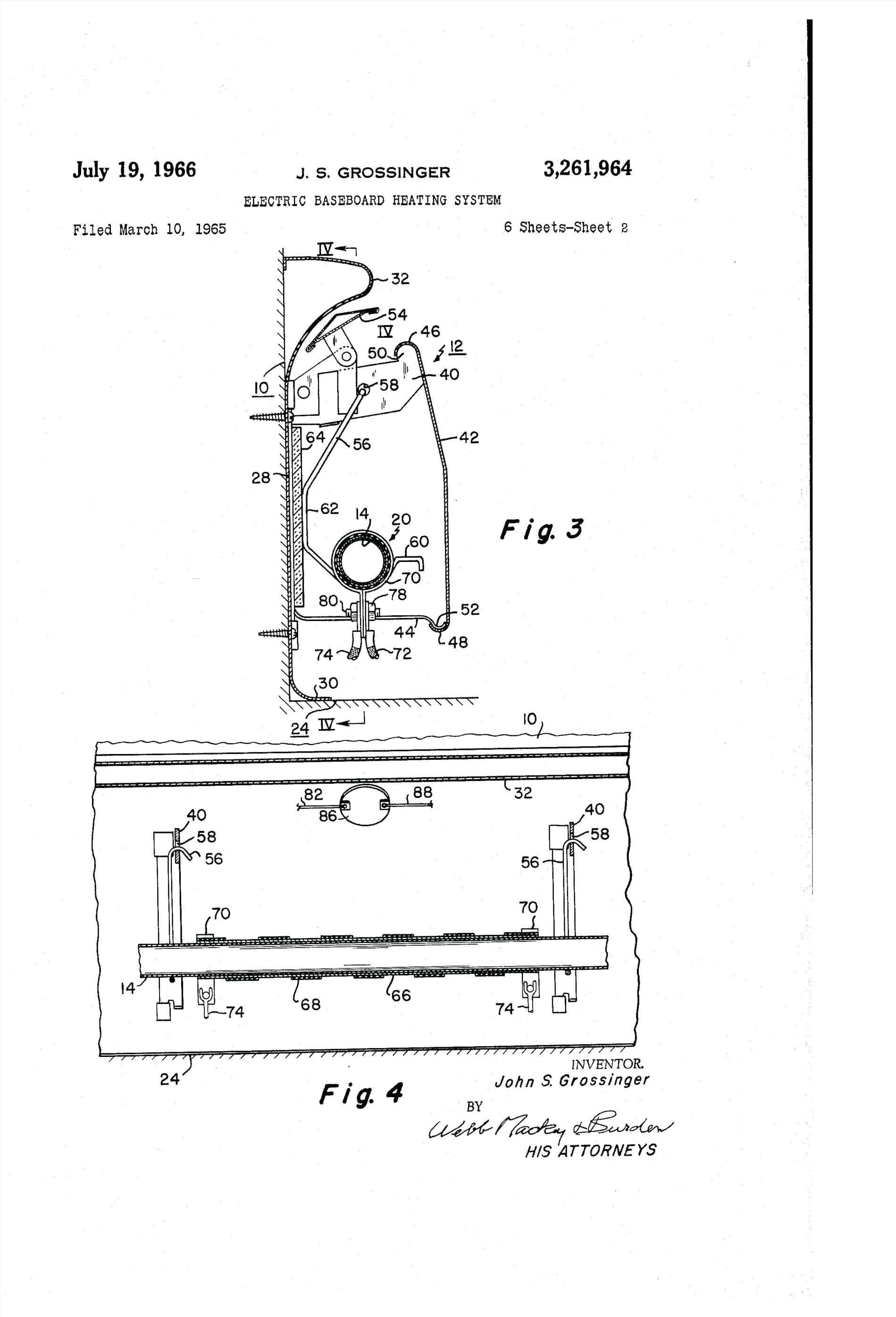 New Wiring Diagram for thermostat On Baseboard Heater