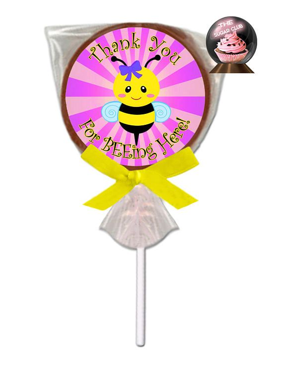 Bee Baby Shower Girl Party Bumble Candy Chocolates Theme