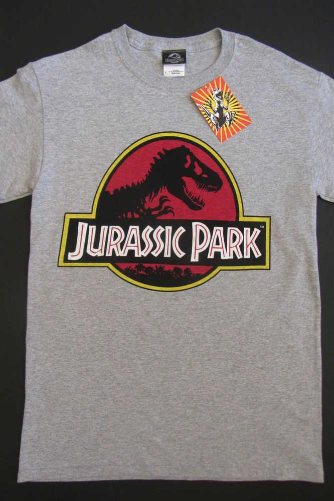 cf46ebcc321 Authentic Mens Jurassic Park Universal Studios Retro Movie T-Shirt BNWT  Licensed in Clothes
