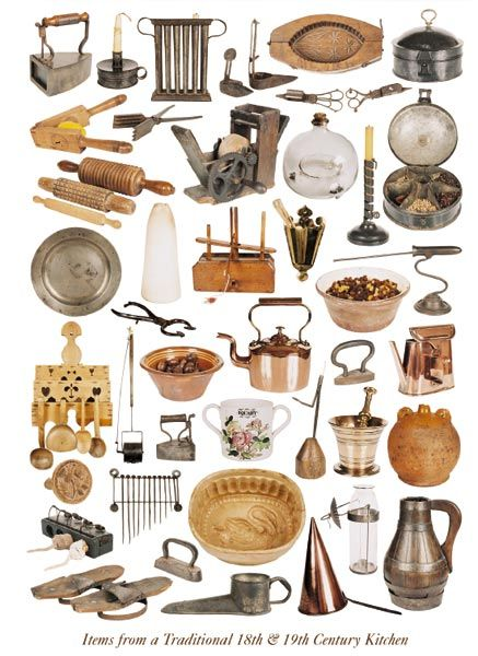 Items From A Traditional Eighteenth Amp Nineteenth Century