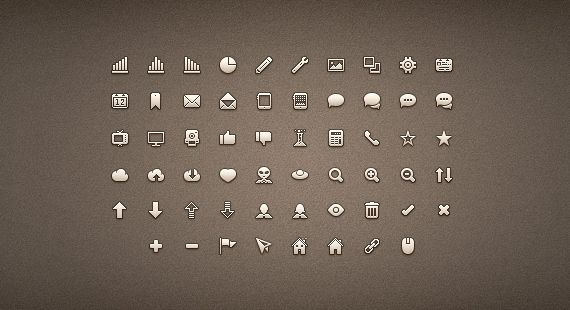 The icon set contains 58 pixel-perfect icons which you are free to use in personal and commercial projects. The download includes the PSD, the CSH file for the shapes, and PNGs.