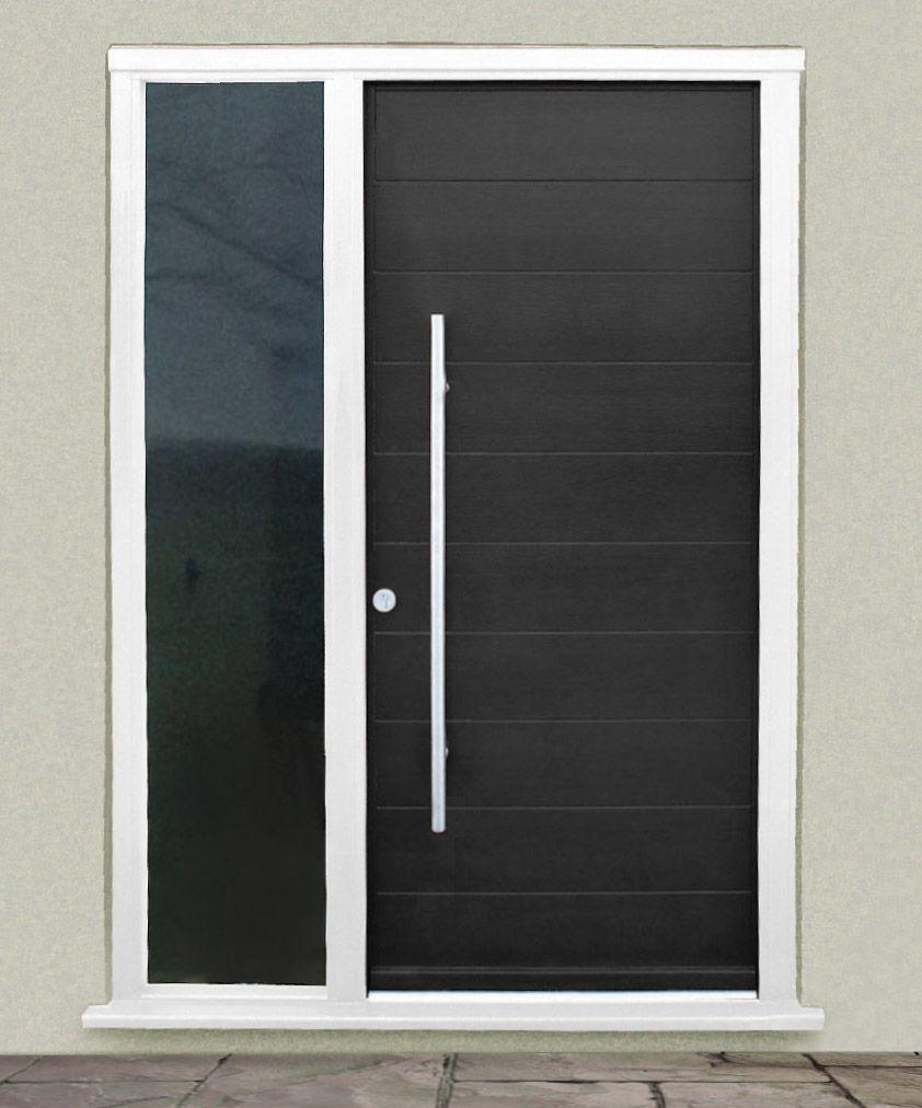 Modern wooden front doors - Kloeber Gallery Euro Funkyfront Contemporary Timber Entrance Doors