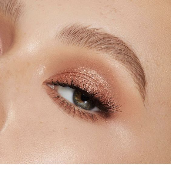 Rose gold – eye makeup – Miladies.net