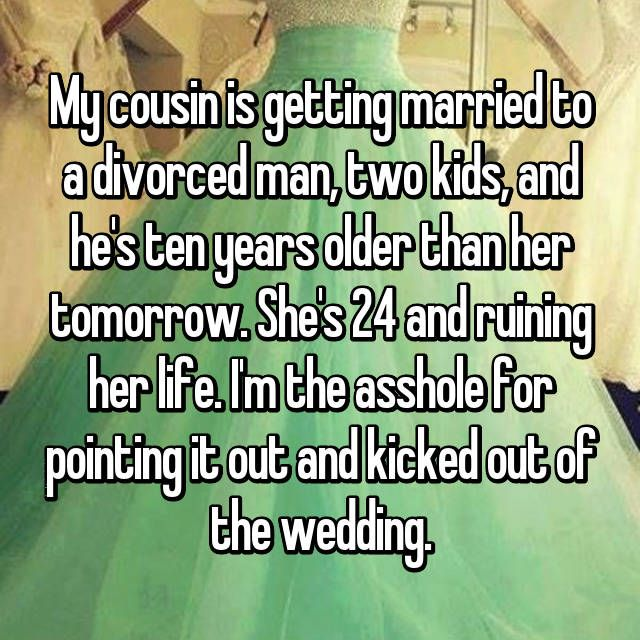 marrying a divorced man with kids