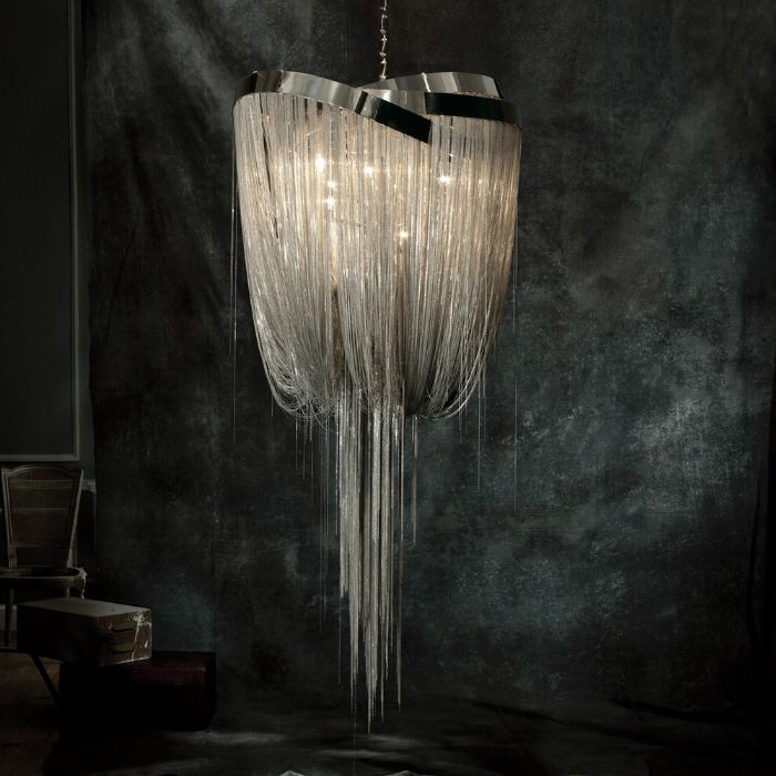 Mother Chandelier By Baylar Atelier At Hudson Furniture Love How This Looks Like A Dripping Drapey Necklace