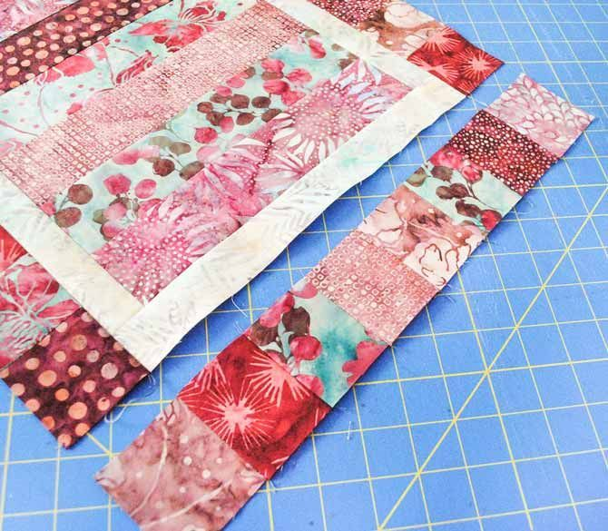 5 ways to use rail fence blocks   Quilt square patterns ...
