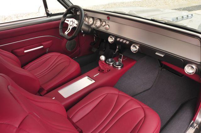 Check Out This Totally Custom 1966 Pro Touring Chevelle Custom Car Interior Chevrolet Chevelle Camaro Interior
