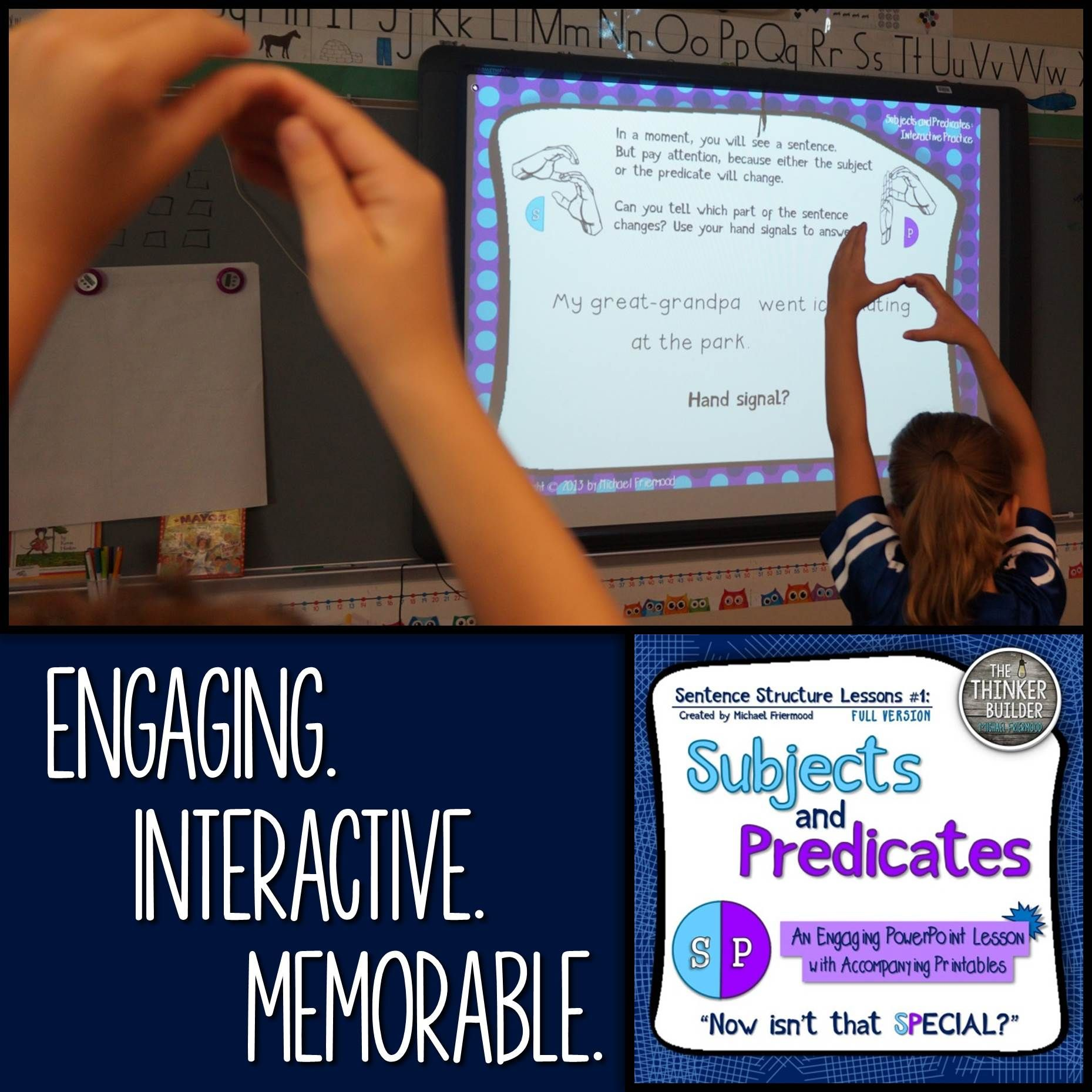 Subjects And Predicates Sentence Structure Lesson 1