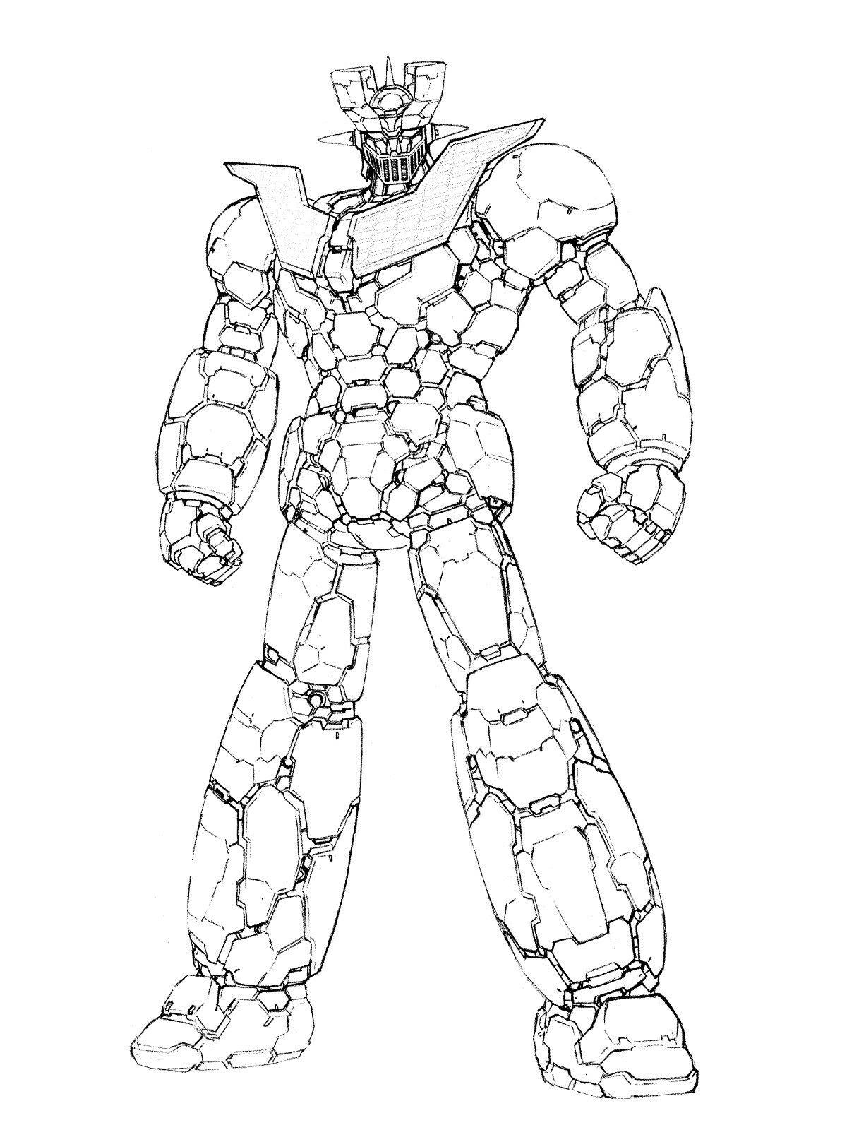 Pin by Šorgo Uroš on Chogokin | Pinterest | Super robot, Robot and Anime