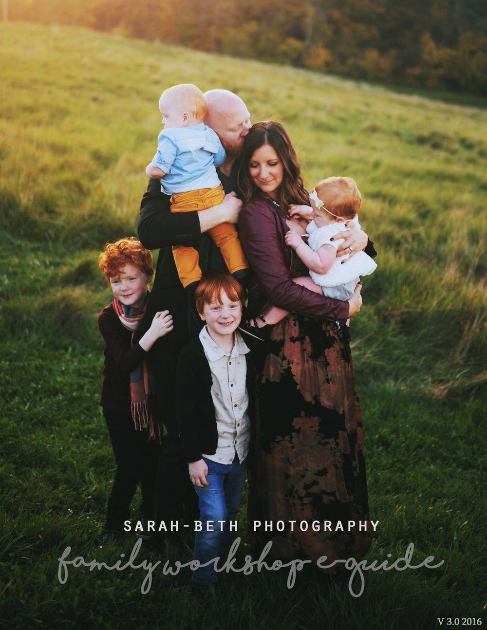 Image of Family Photography Workshop Guide v3.0 2017