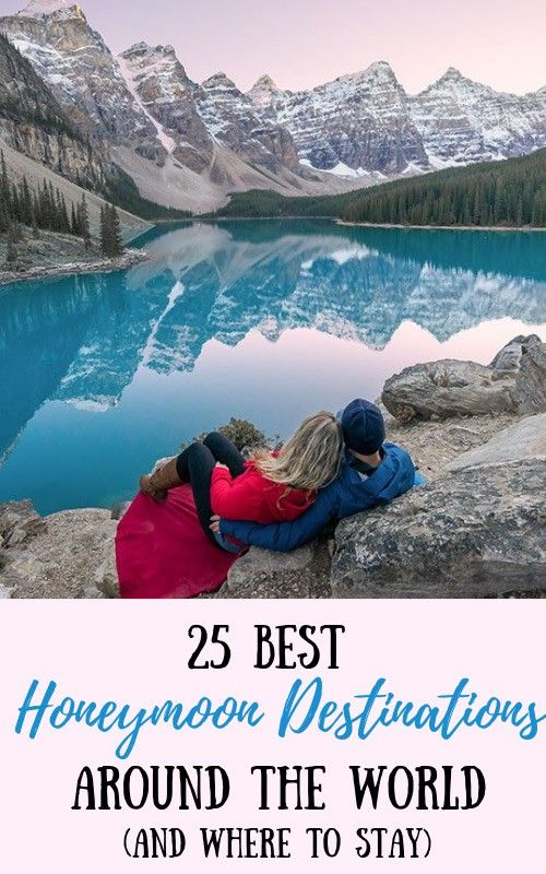 25 Best Honeymoon Destinations In The World (And Where To