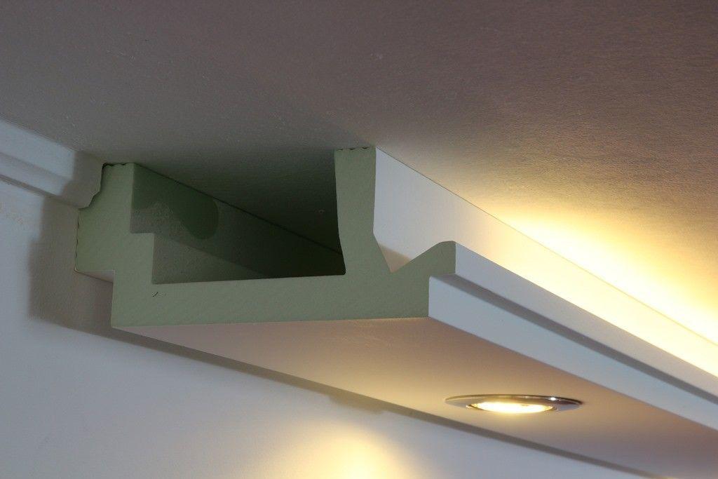 Modern Geformte Led Stuckleisten Wdml 200c Pr Aus Hartschaum Fur Direktes Und In 2020 Indirekte Beleuchtung Indirekte Beleuchtung Wohnzimmer Beleuchtung Wohnzimmer