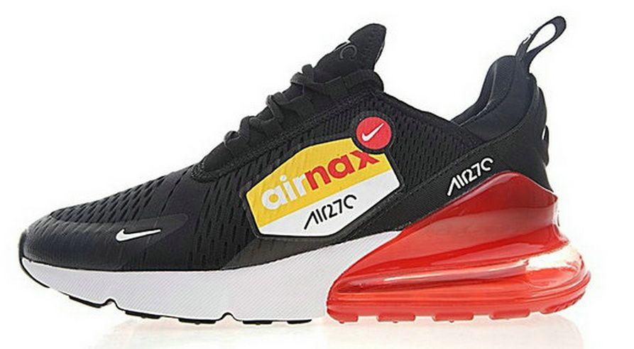 nike air max 270 se nero and red