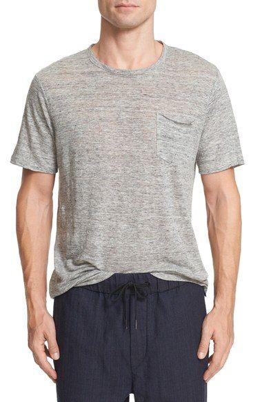 Owen Slub Linen-jersey T-shirt Rag & Bone Big Sale UyWBxv0