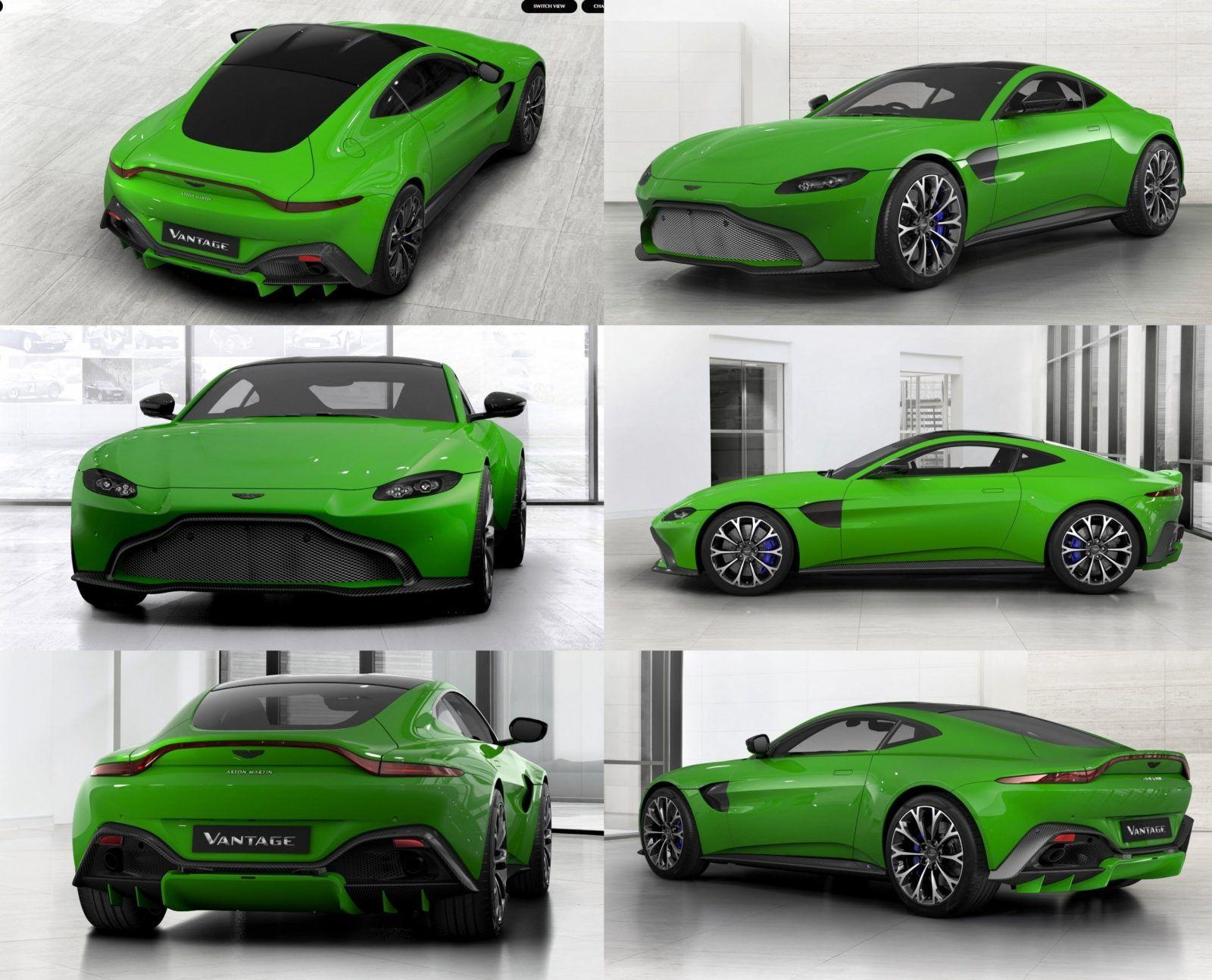 2018 Aston Martin Vantage Official Configurator Gifs Q Palette